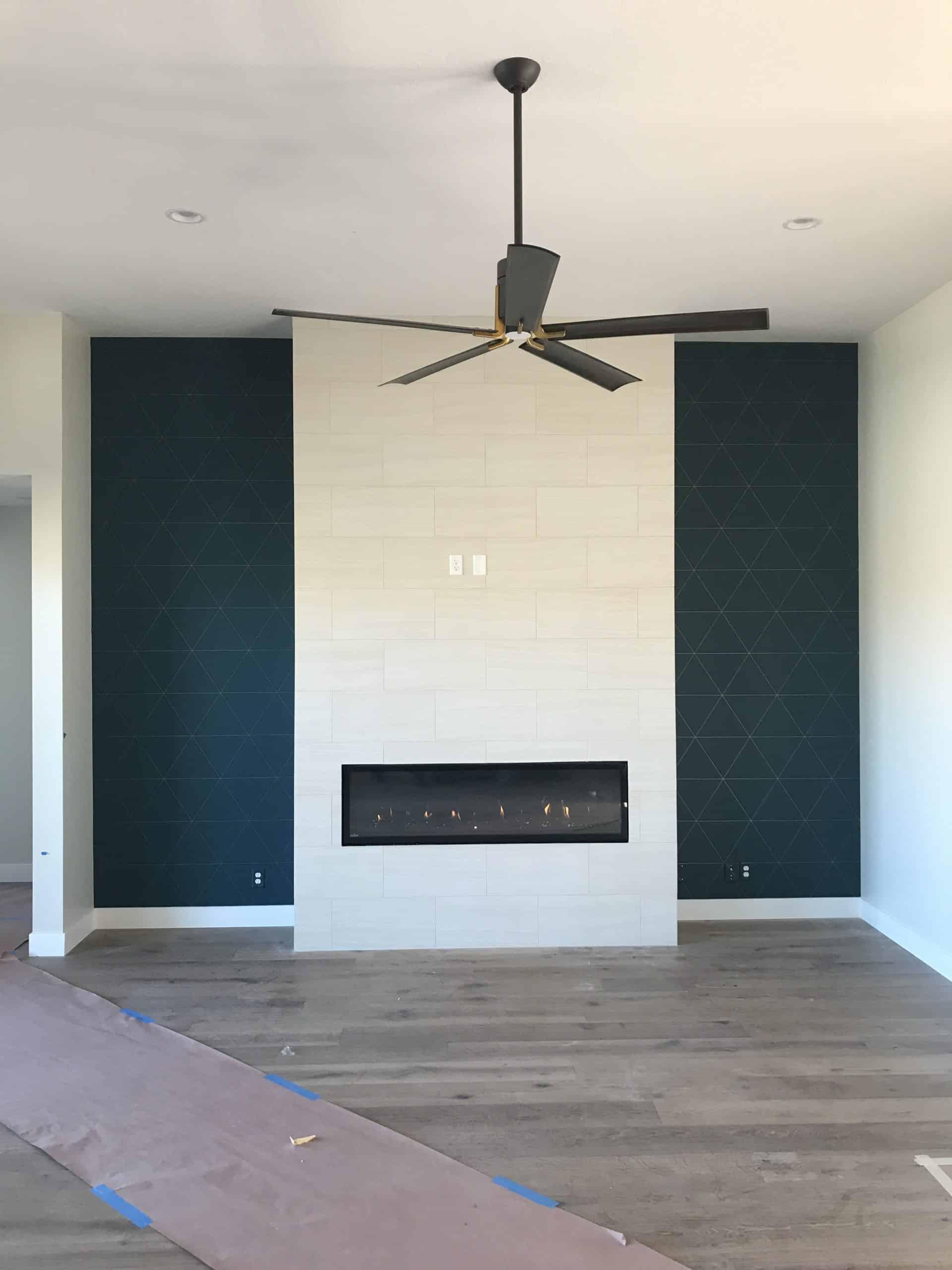 Custom Indoor Fireplace
